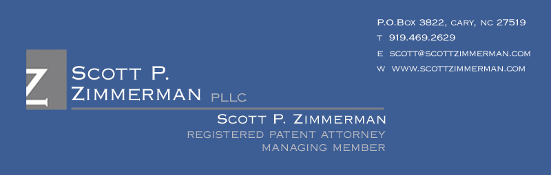 Scott P. Zimmerman PLLC Registered Patent Attorney